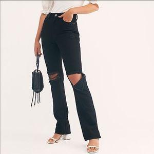 NWT Free People My Own Lane Jeans size 28 denim